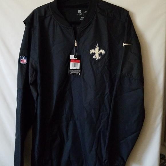 newest de8b3 2825b New Orleans Saints Coach Jacket size L NWT